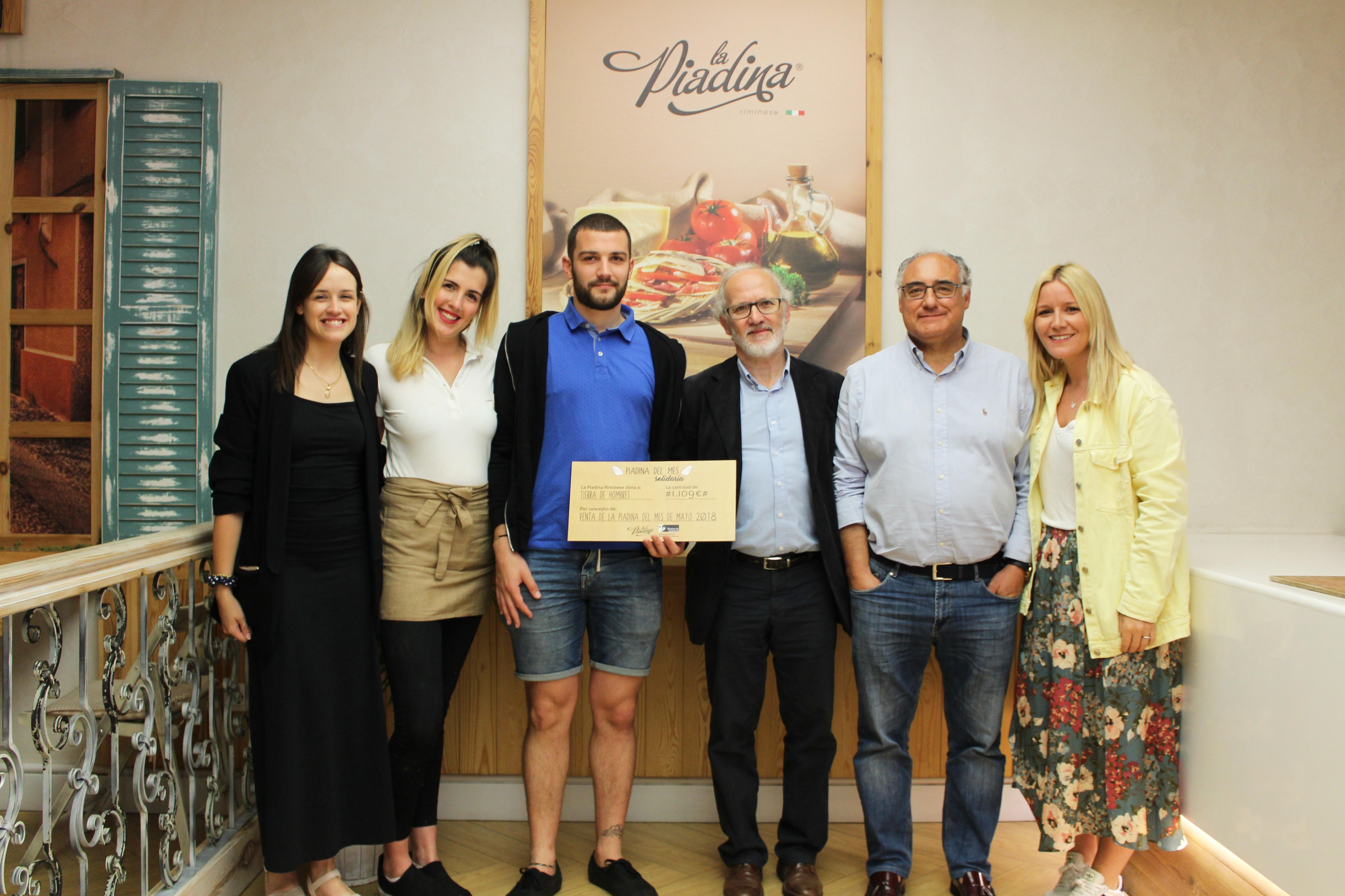 La Piadina Riminese colabora con Tierra de hombres Galicia