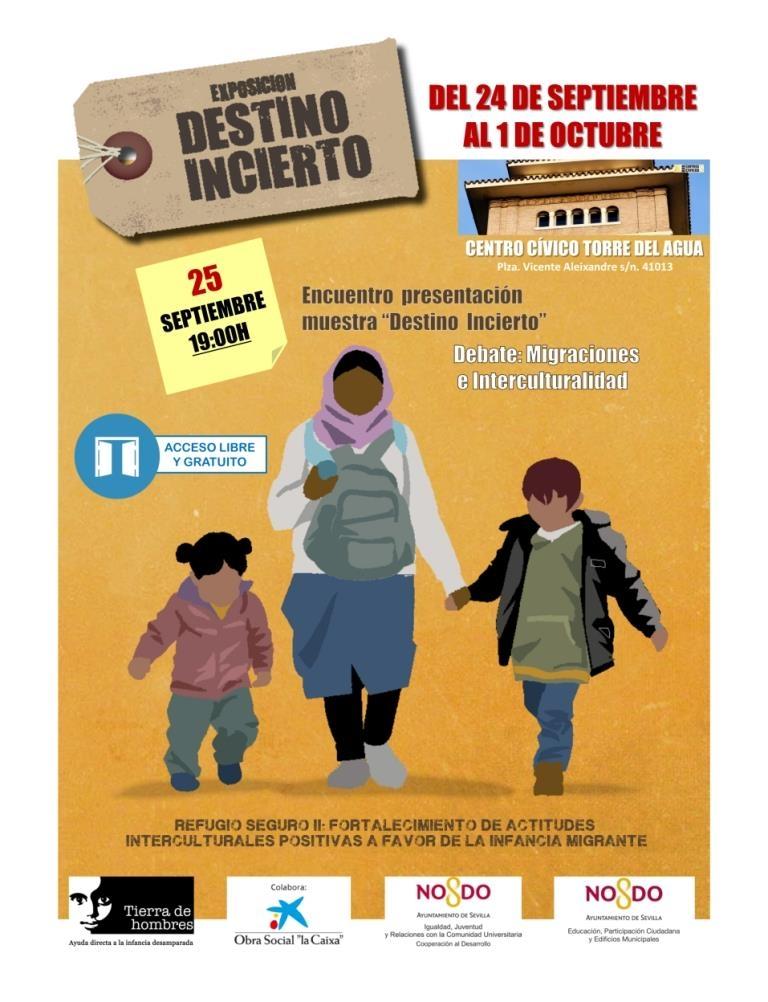 La exposición «Destino Incierto» llega a Sevilla para derribar los prejuicios de la migración