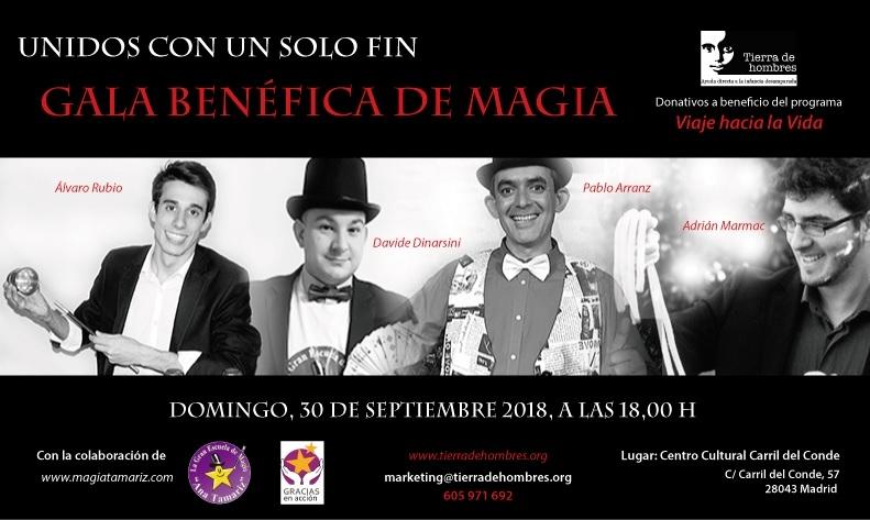 Gala de Magia en Madrid de la mano de La Gran Escuela de Ana Tamariz