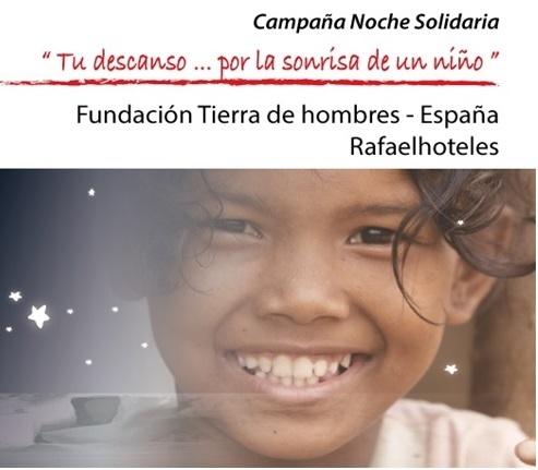 Grupo Oca Hotels se une a la Campaña «Noche Solidaria» de Fundación Tierra de hombres