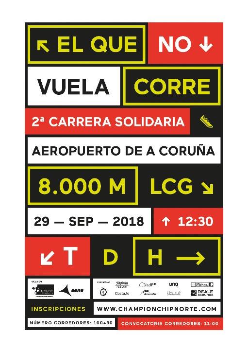 fotnot galicia carrera aerouerto nuevo ayuda infancia