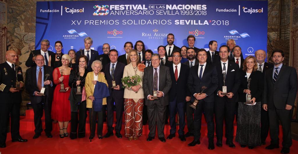 Tierra de hombres España recibe el Premio Solidario del Festival de las Naciones