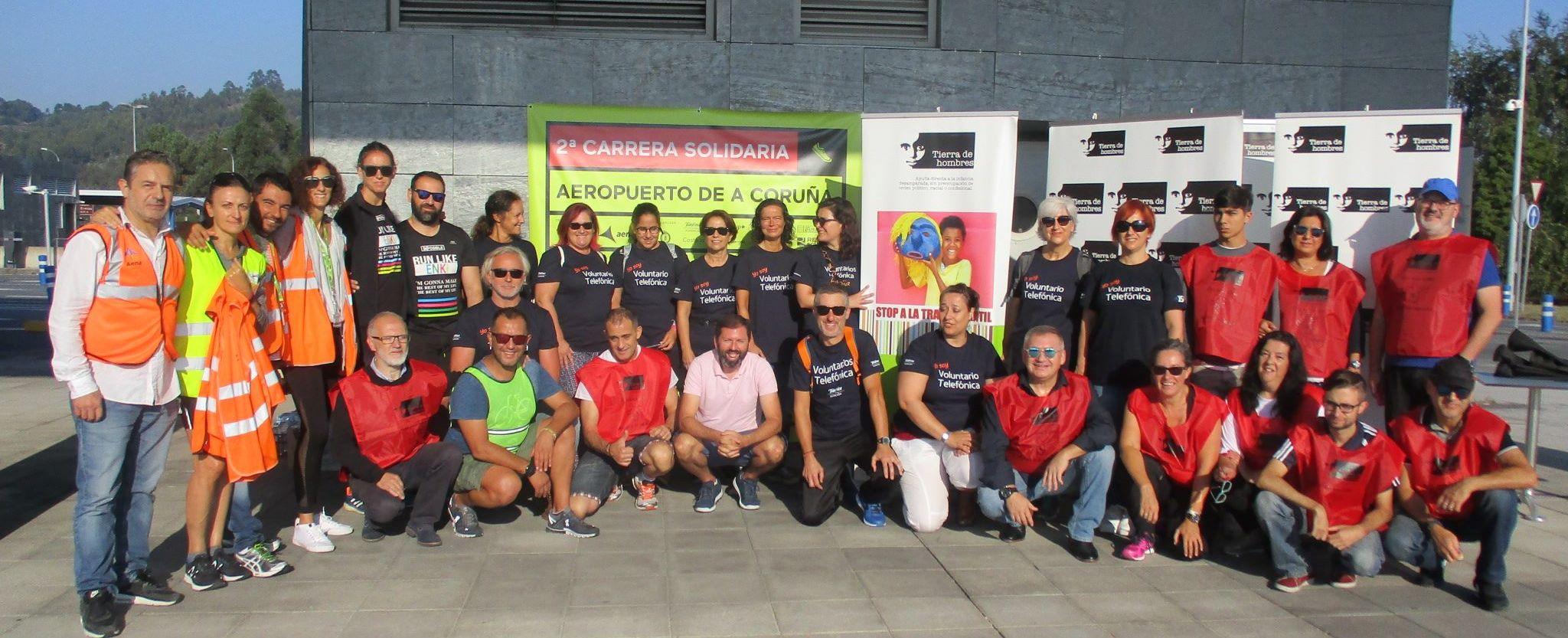 fotnot galicia iicarrera aeropuerto grupo ayuda infancia
