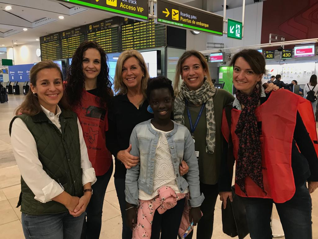 fotnot vhv galicia madrid salla aeropuerto ayuda infancia