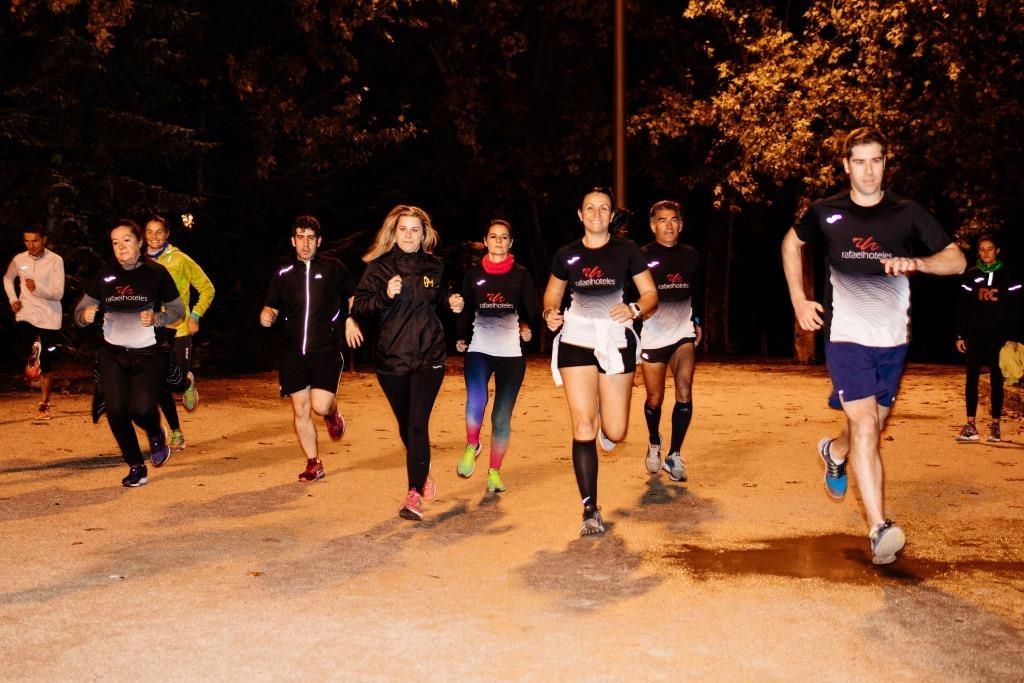 Éxito en la segunda II Running Master Class Solidaria de Rafaelhoteles