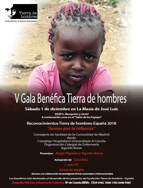 V Gala benéfica Tierra de hombres en Madrid