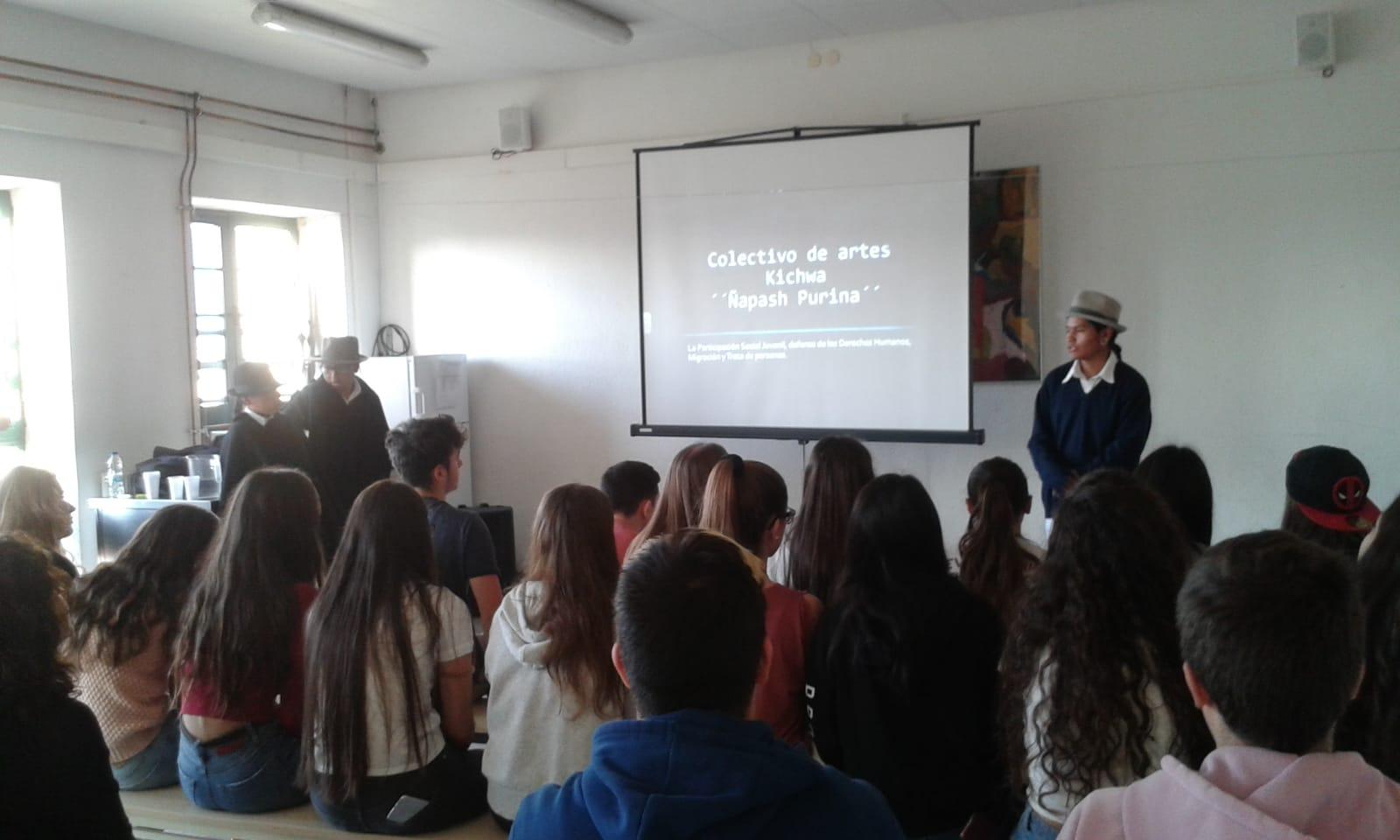 fotnot euskadi visita ecuador caminoseguro ayuda infancia