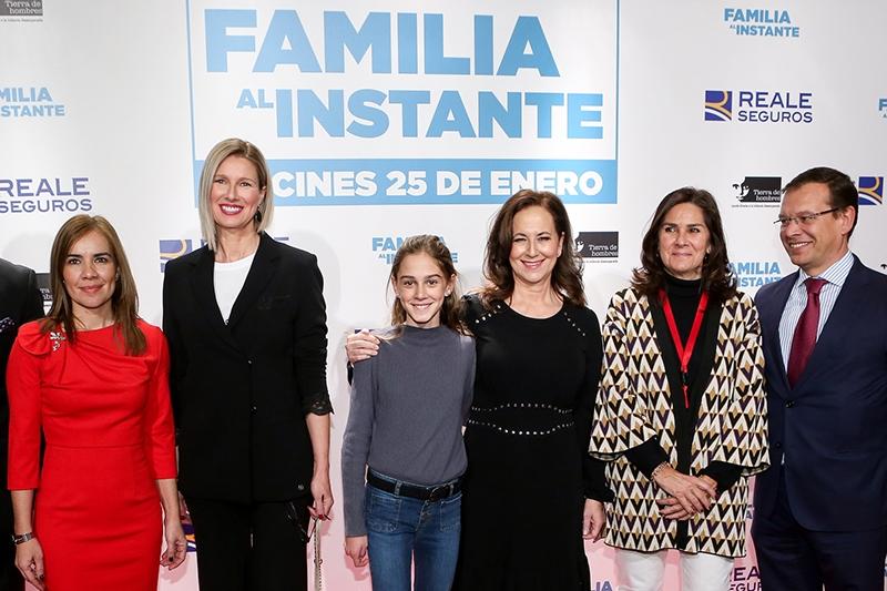 """Preestreno de la película de Paramount """"Familia al Instante"""" patrocinada por REALE SEGUROS, apoyada por la Comunidad de Madrid y con Anne Igartiburu como Madrina y presentadora"""