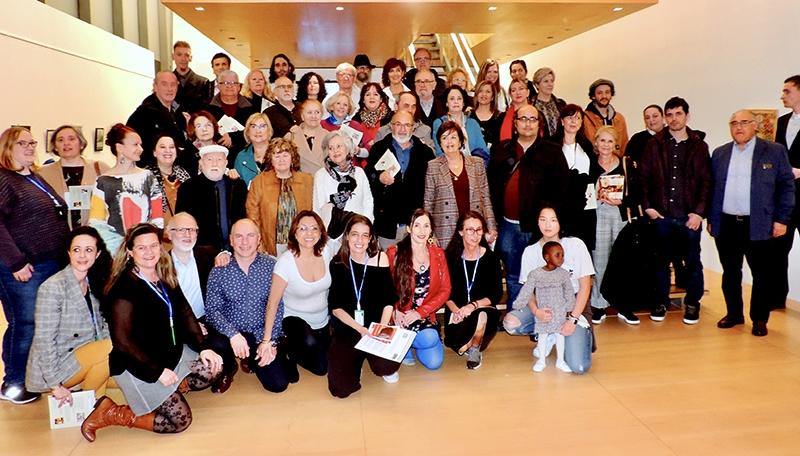 II Exposición colectiva en A Coruña a beneficio de Tierra de hombres