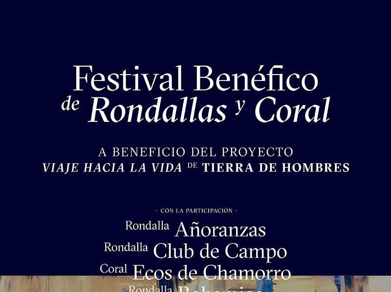 Festival Benéfico de Rondallas y Coral en Ferrol el día 25 de Mayo