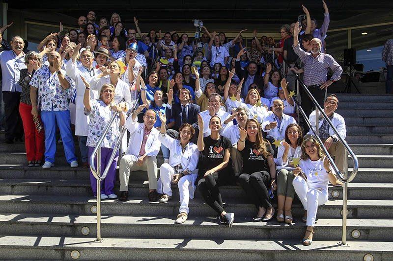 Día Nacional del Niño Hospitalizado, miles de sonrisas y besos inundan 200 hospitales de toda España