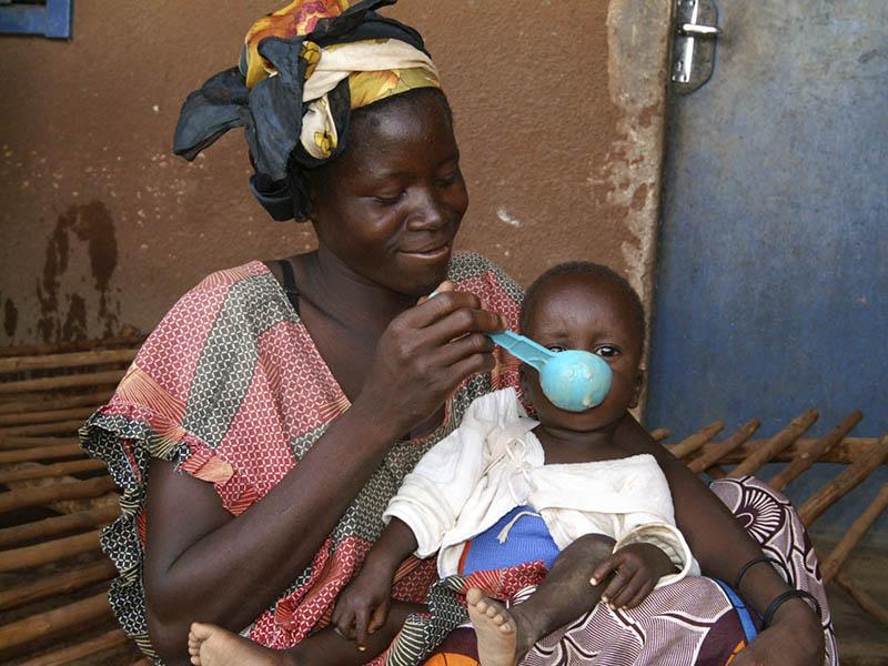 Solidaridad ante la malnutrición infantil
