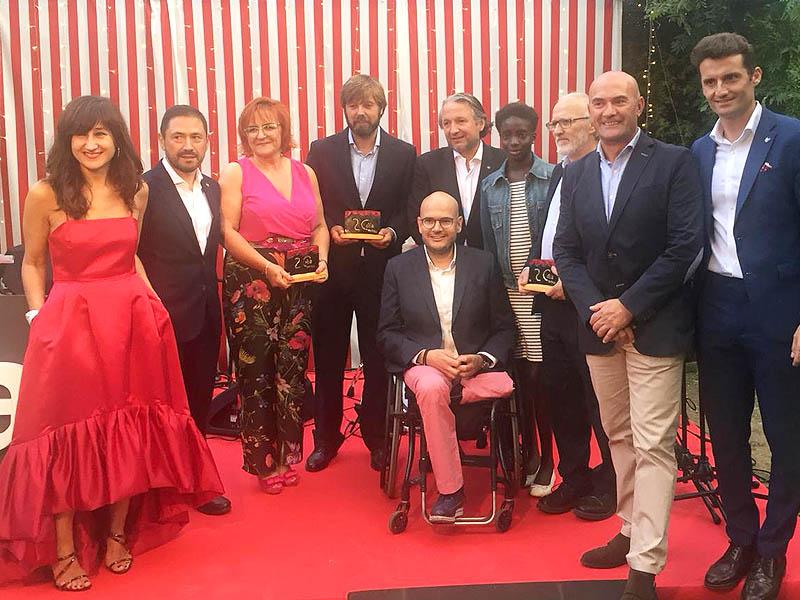 Entrega premios Cadena OCA Hotels a Tierra de hombres