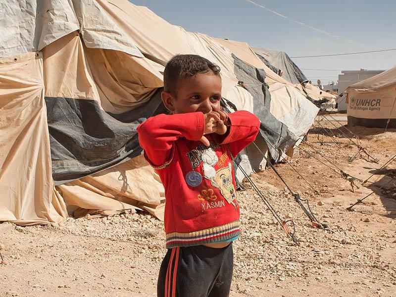 Los niños y niñas en las crisis humanitarias
