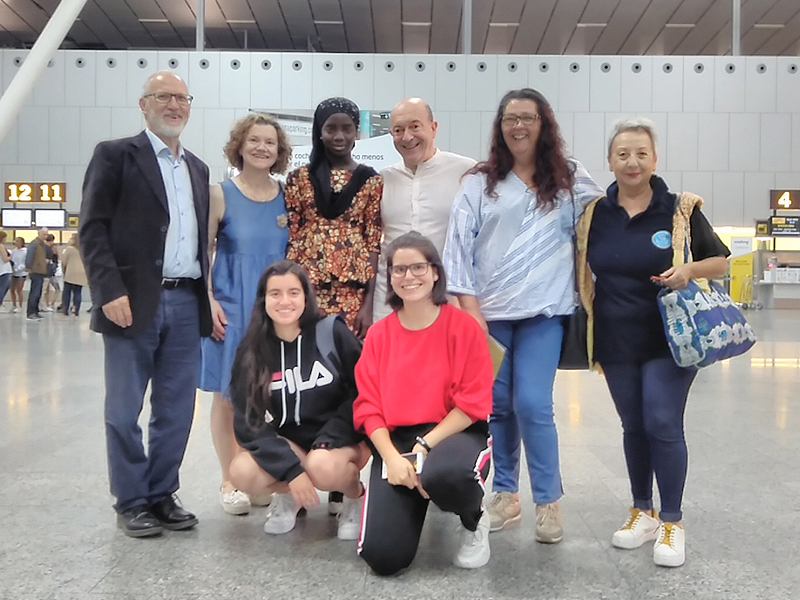 Regreso de Fatim a Senegal