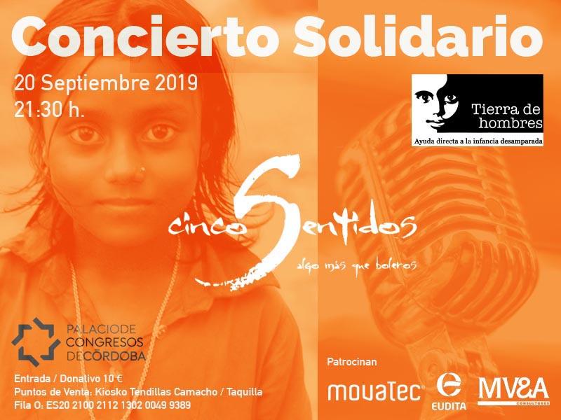 Concierto Solidario «Cinco Sentidos, algo más que boleros»