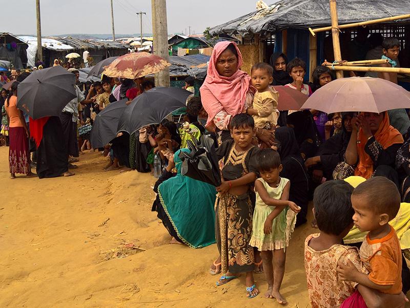 La crisis de los Rohingyas: sobrevivir en los campos de Cox's Bazar