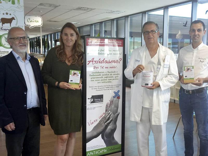 APeTéCeMe colabora con Tierra de hombres a través de una campaña solidaria en el Hospital Alvaro Cunqueiro de Vigo