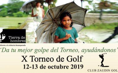 X Torneo de Golf en el Club Zaudín
