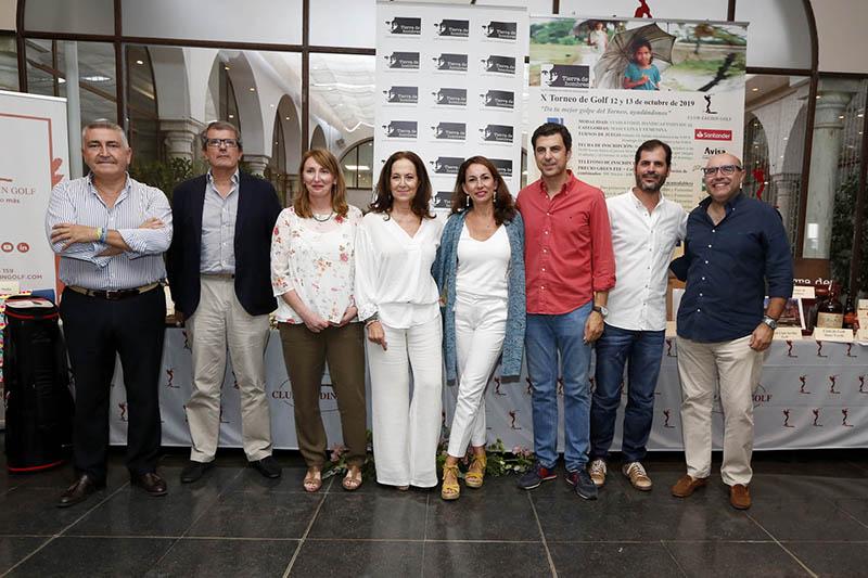 La Fundación Tierra de hombres celebra con éxito su Torneo de golf solidario