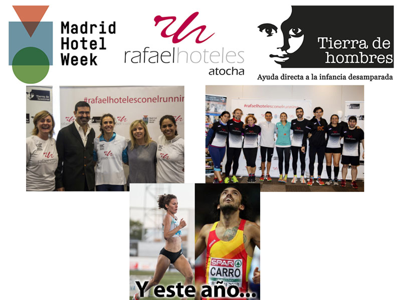 III Running Masterclass Solidaria – Rafaelhoteles Atocha