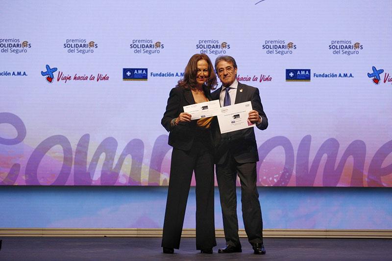 """La Fundación A.M.A. premia el """"Viaje hacia la Vida"""" de la Fundación Tierra de Hombres"""
