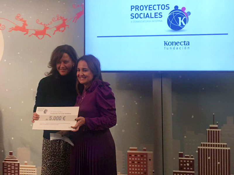 La Fundación Konecta colabora con Tierra de hombres Galicia