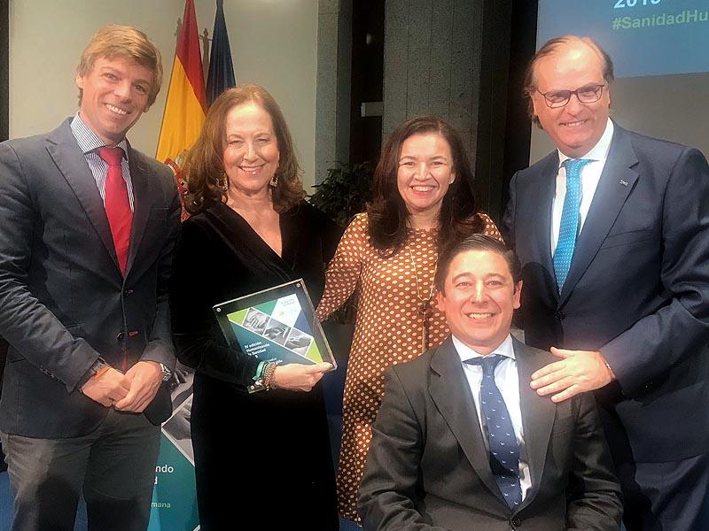 """El programa """"Viaje hacia la Vida"""", iniciativa premiada en la IV edición de """"Humanizando la Sanidad"""" de TEVA"""