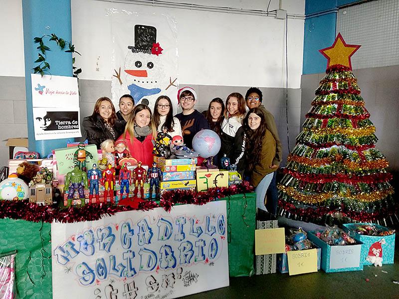 El Colegio Hogar de Santa Margarita colabora con la Fundación Tierra de hombres