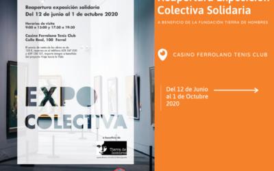 Reapertura Exposición Colectiva en Casino Ferrolano Tenis Club