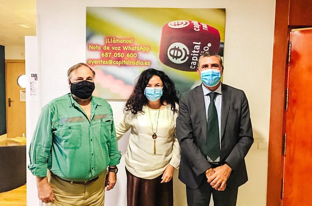 Fundación Tierra de hombres con Ofesauto en el programa «Tercer sector» de Capital Radio