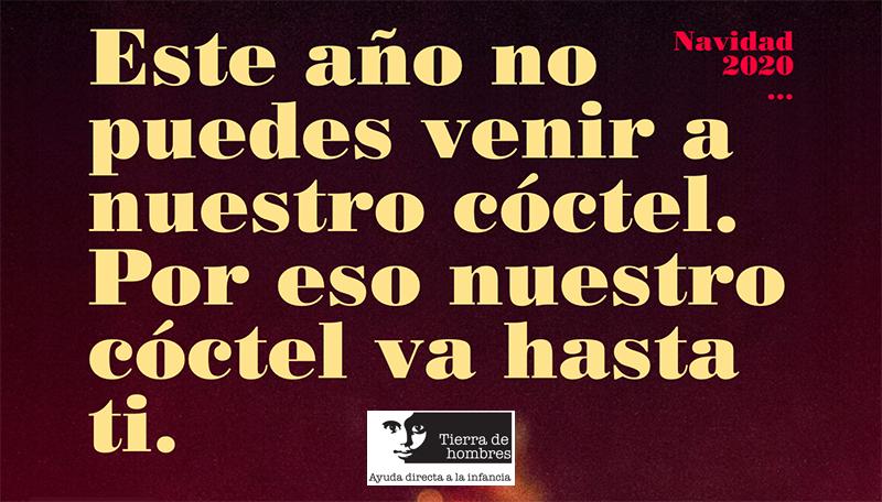 Coctel solidario Tierra de hombres Galicia