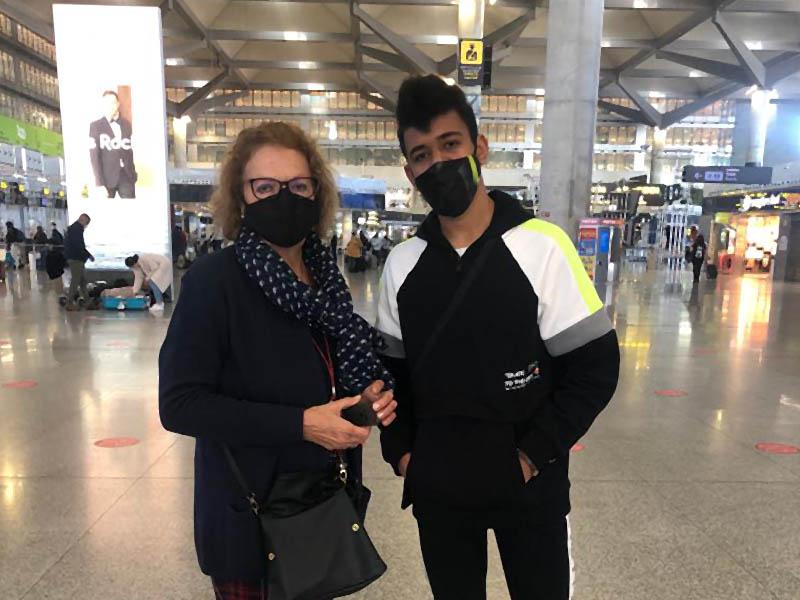 Yassine vuelve a casa