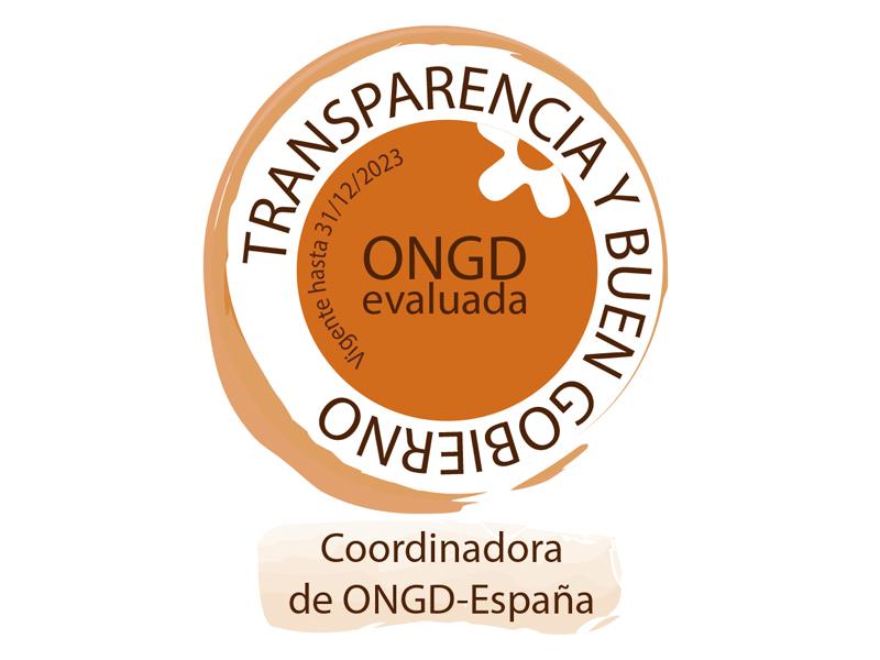 Certificado CONGD España «Herramienta de indicadores de Transparencia y Buen Gobierno» 2020-2023