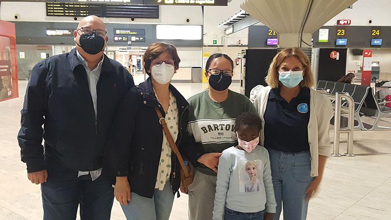Pequeña de cinco años regresa a Mauritania tras haber sido intervenida en Córdoba