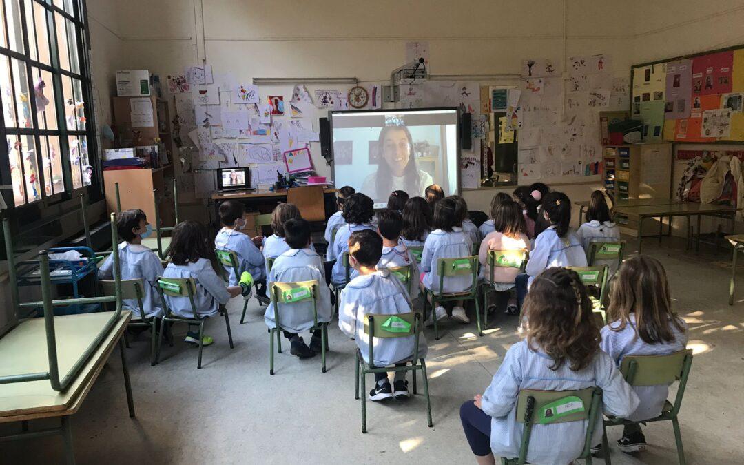 Presentación del programa «Viaje hacia la Vida» en el Centro Enseñanza «Concepción Arenal» de A Coruña
