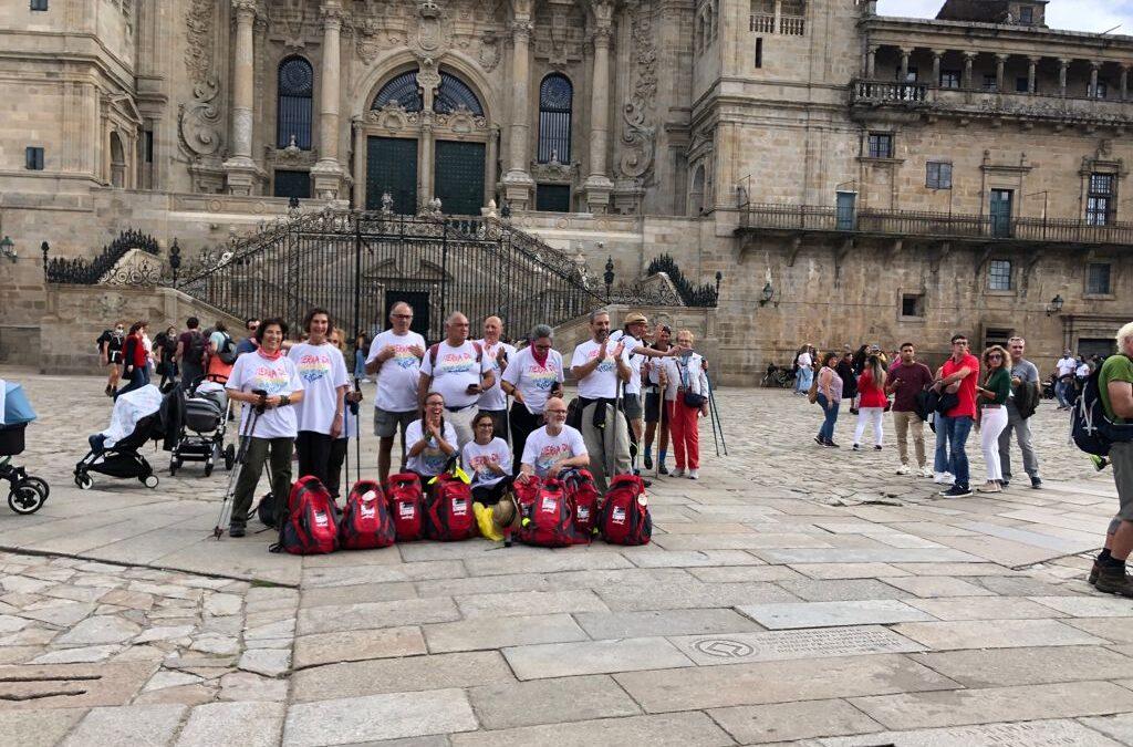 El voluntariado de Tierra de hombres finaliza el Camino de Santiago