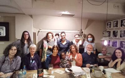 Reunión del voluntariado de la Fundación en Vigo
