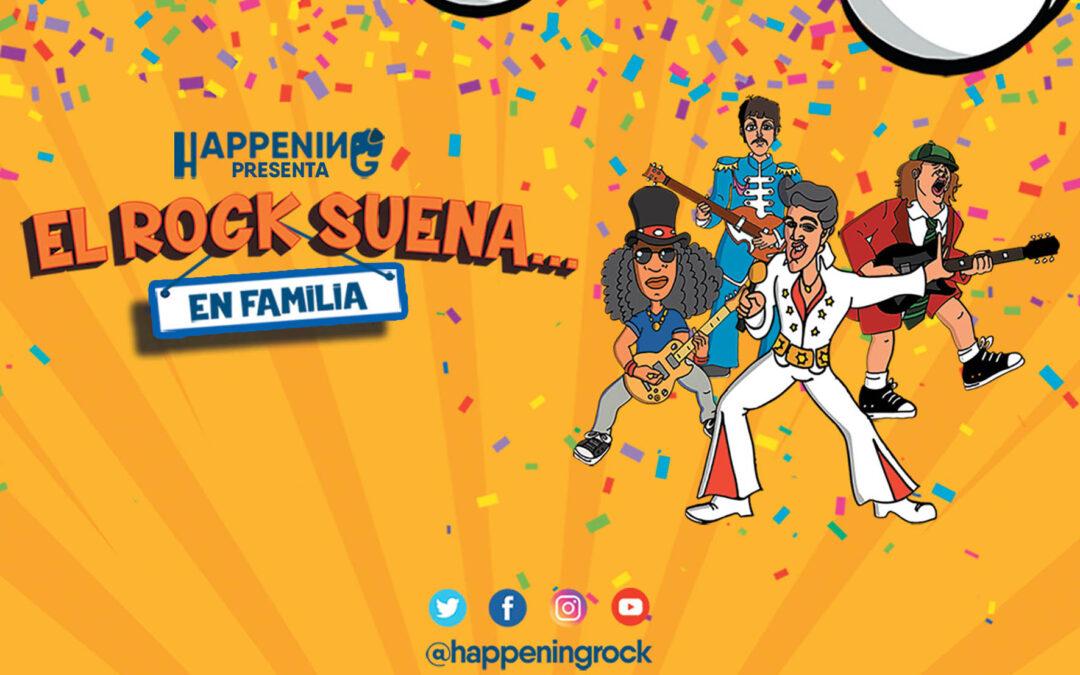 Happening presenta «El Rock suena… en familia» en Moralzarzal